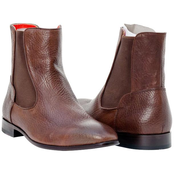 Remo Brown Buffalo Skin Beatles Boots  full-size #1