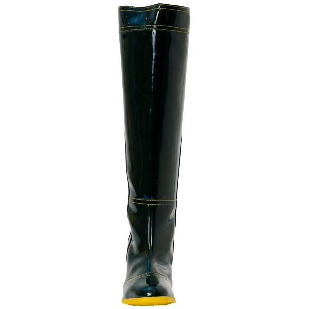 Maria Black Shiny Leather Tall Boots full-size #2