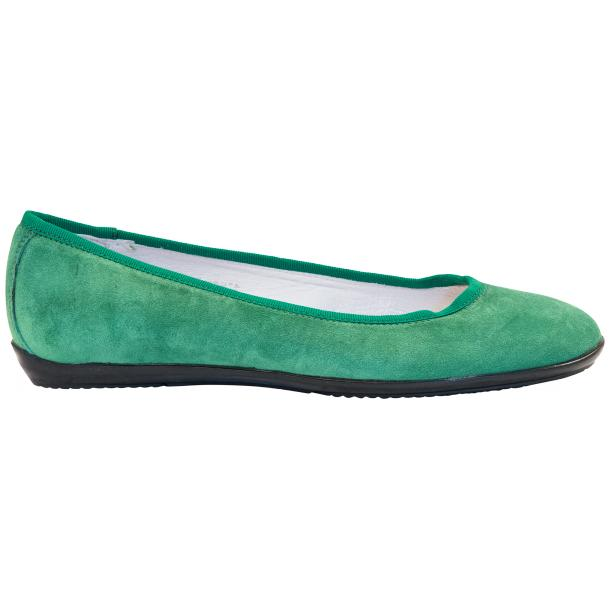 Mimi Green Dip Dyed Suede Ballerina Flats full-size #4