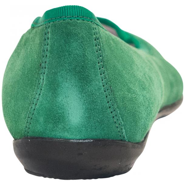 Mimi Green Dip Dyed Suede Ballerina Flats full-size #5