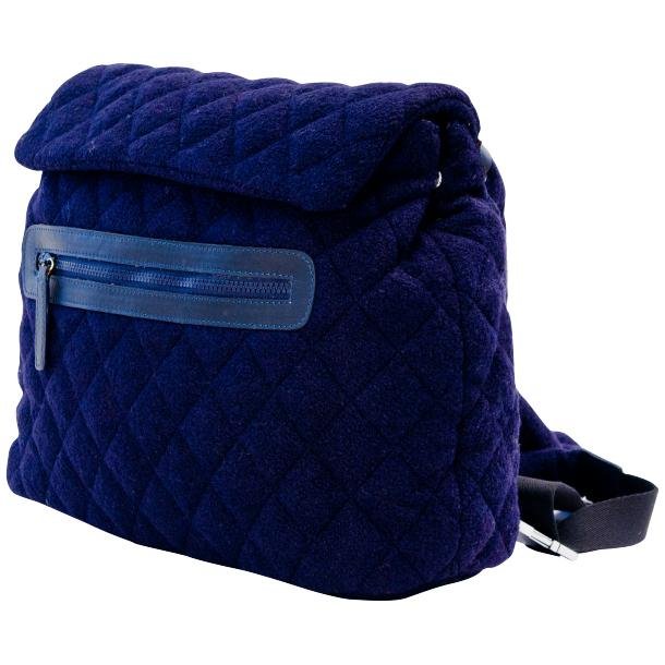 Gina Navy Blue Hand Backpack full-size #1