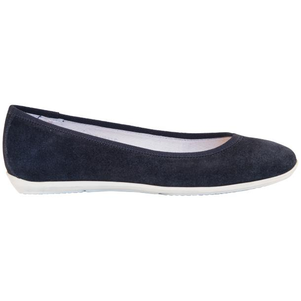 Mimi Blue Dip Dyed Suede Ballerina Flats full-size #4