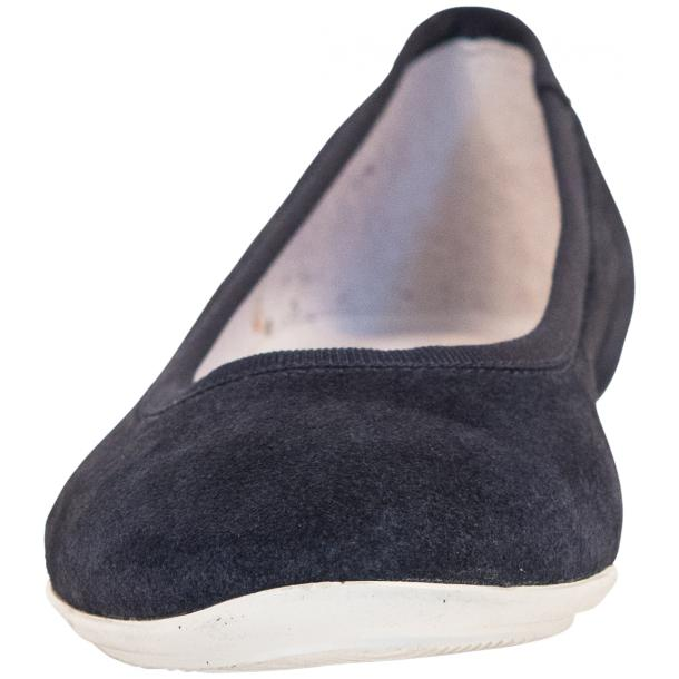 Mimi Blue Dip Dyed Suede Ballerina Flats full-size #3
