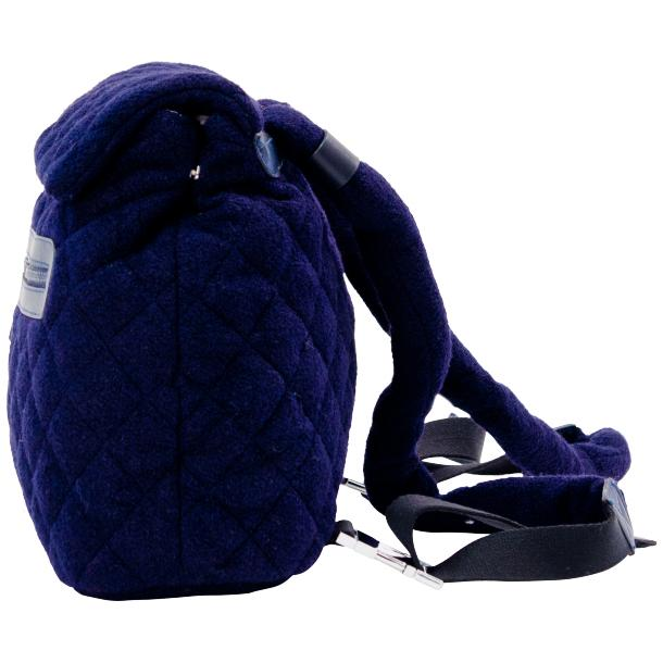 Gina Navy Blue Hand Backpack full-size #2