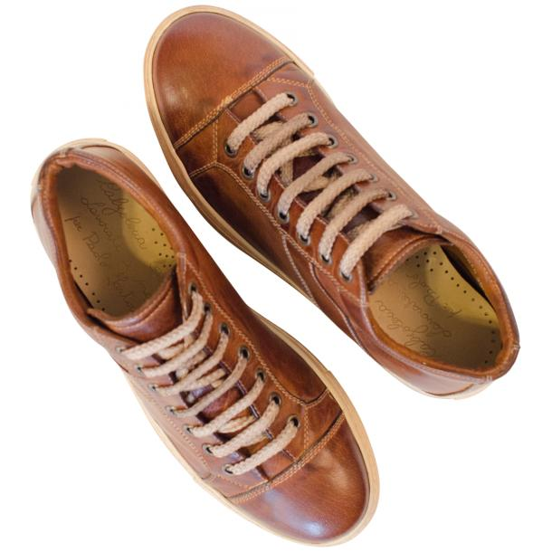 Liza Dip Dyed Brown Low Top Sneakers  full-size #2