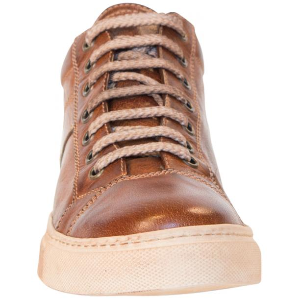 Liza Dip Dyed Brown Low Top Sneakers  full-size #3