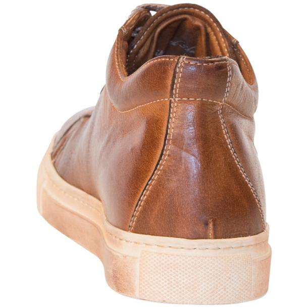 Liza Dip Dyed Brown Low Top Sneakers  full-size #5