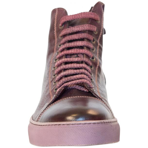 Nova Dip Dyed Oxblood High Top Sneaker full-size #3