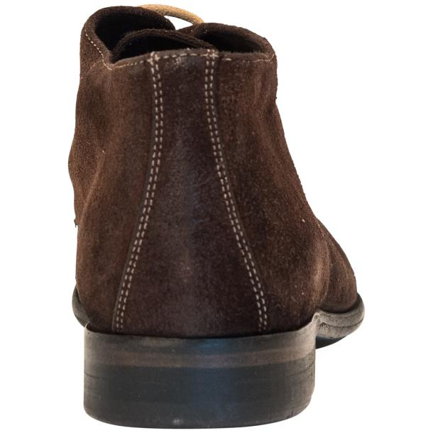 Cala Chocolate Brown Suede Dip Dyed Desert Chukka Boots full-size #5