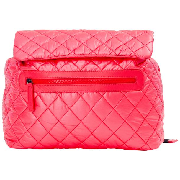 Gina Hot Pink Hand Backpack  full-size #4