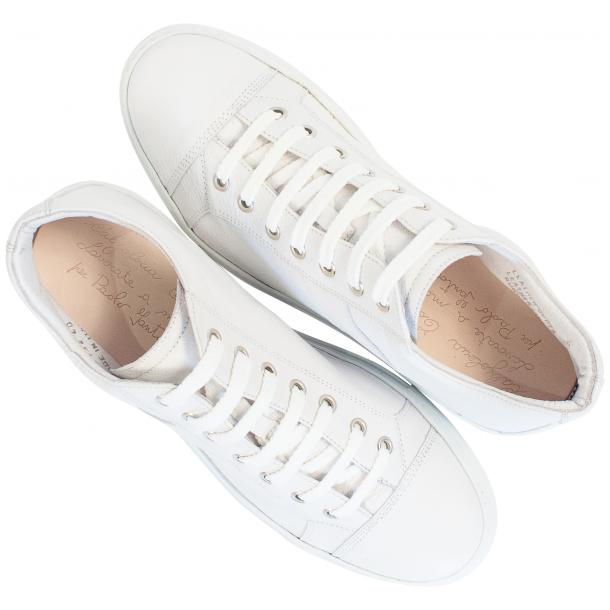 Seth Dip Dyed White Low Top Sneakers  full-size #2