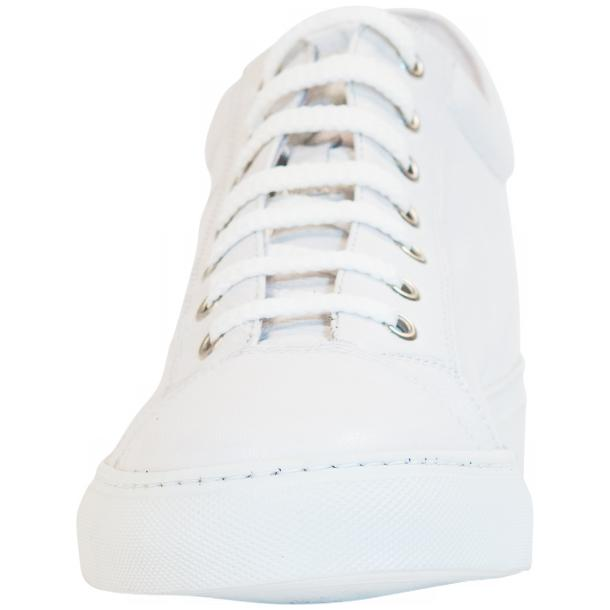 Seth Dip Dyed White Low Top Sneakers  full-size #3