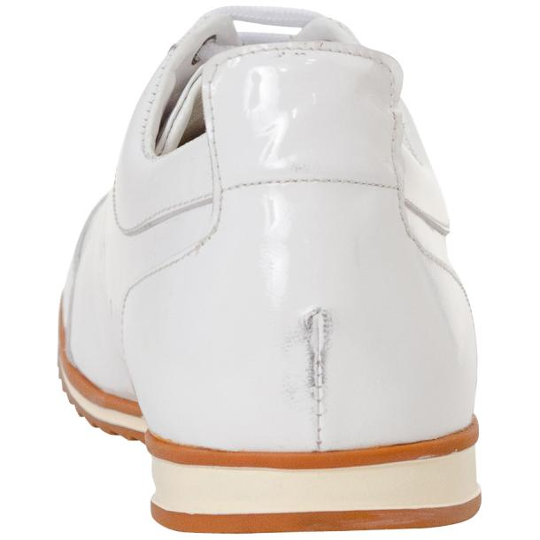 Bronson White Nappa Leather Low Top Sneakers full-size #5