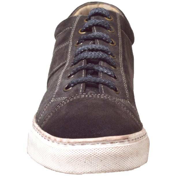 Hannah Suede Stone Grey Dip Dyed Sneakers full-size #2