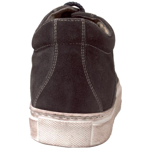 Hannah Suede Stone Grey Dip Dyed Sneakers full-size #4