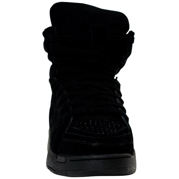 Breakin' Royal Black Suede High Top Sneakers full-size #3