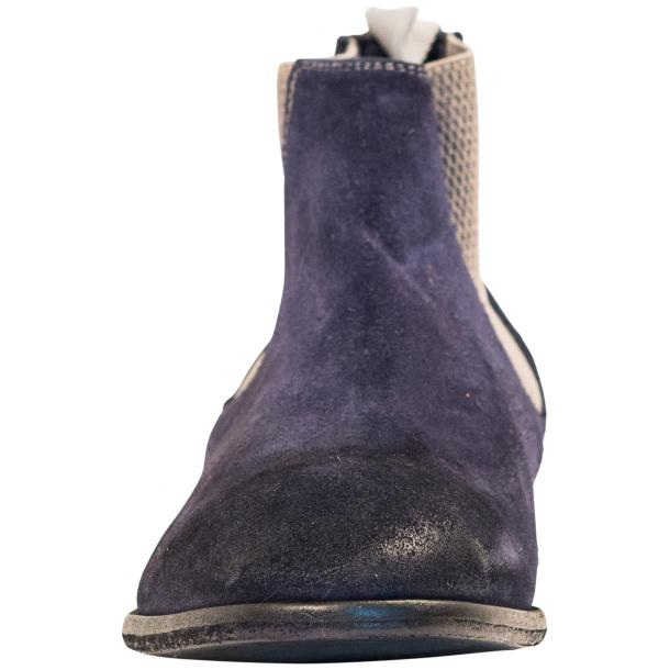 Julie Dip Dyed Blue Suede Chelsea Boots full-size #3
