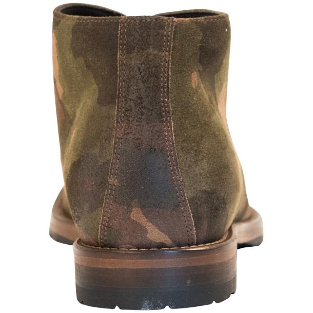 "Brenda Camouflage ""Hunting"" Suede Desert Chukka Boots full-size #5"