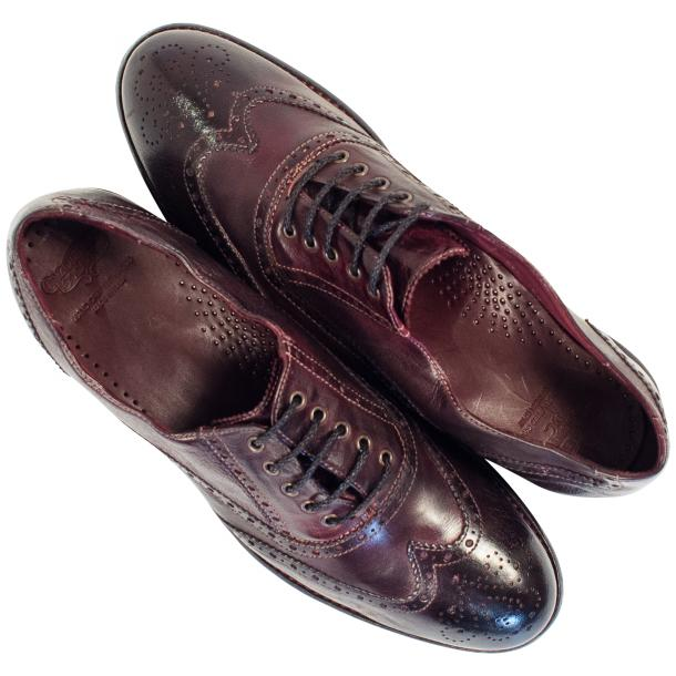 "Desiree Dip Dyed ""Oxblood""Leather Wingtip Lace Up Oxfords full-size #2"