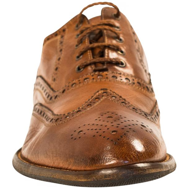 Mateo Dip Dyed Mahogany Nappa Leather Oxfords full-size #3