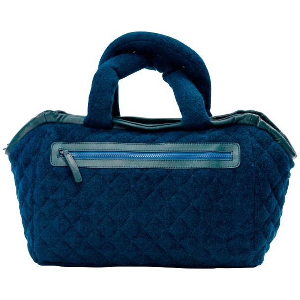 Gertude Royal Blue Handbag full-size #4