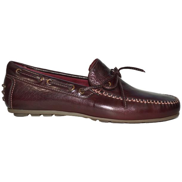 Zayden Dip Dyed Oxblood Drivers  full-size #3