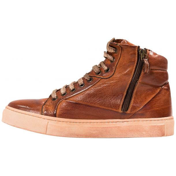 Kim Dip Dyed Coker Nappa Leather High Top Sneaker full-size #6