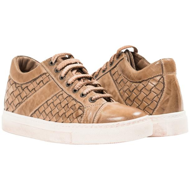 Veronica Dip Dyed Rope Hand Woven Low Top Sneaker  full-size #1