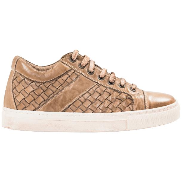 Veronica Dip Dyed Rope Hand Woven Low Top Sneaker  full-size #4