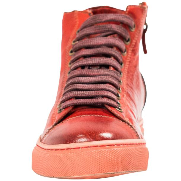 Nova Dip Dyed Red High Top Sneaker full-size #3