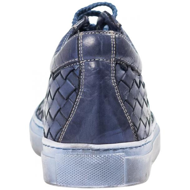 Veronica Dip Dyed Pacific Hand Woven Low Top Sneaker  full-size #5