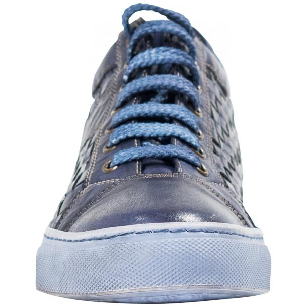 Veronica Dip Dyed Pacific Hand Woven Low Top Sneaker  full-size #3