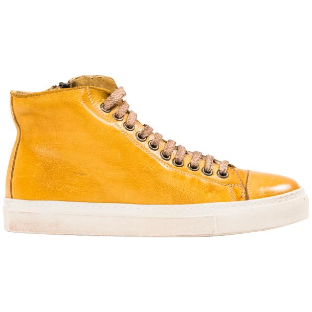 Ember Dip Dyed Mahogany High Top Sneaker  full-size #4