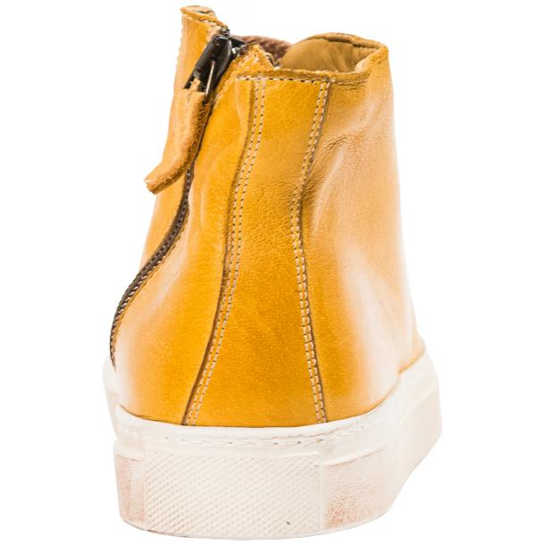 Ember Dip Dyed Mahogany High Top Sneaker  full-size #5