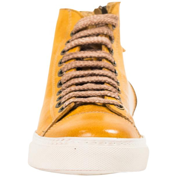 Ember Dip Dyed Mahogany High Top Sneaker  full-size #3