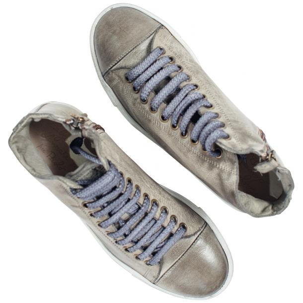 Penny Dip Dyed Grey High Top Sneaker  full-size #2