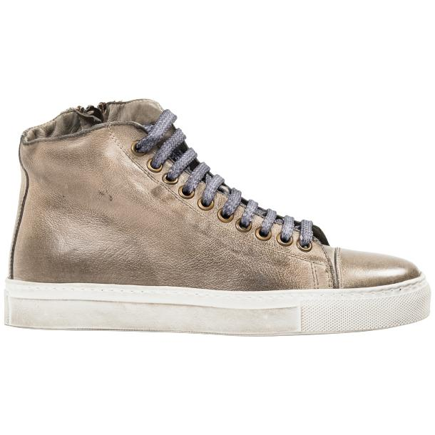 Penny Dip Dyed Grey High Top Sneaker  full-size #4