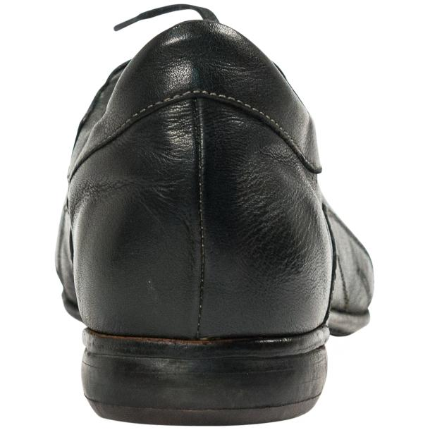 Bradley Landon Green Dip Dyed Leather Sole Sneakers full-size #5