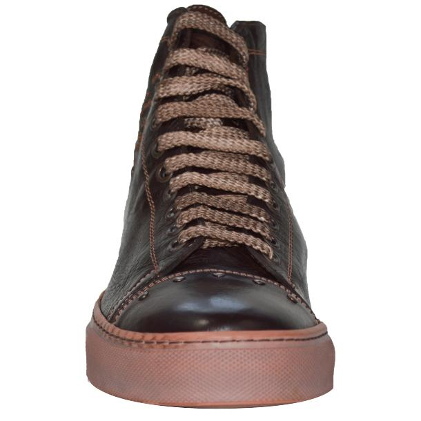 Misty Dip Dyed Brown High Top Sneaker full-size #2