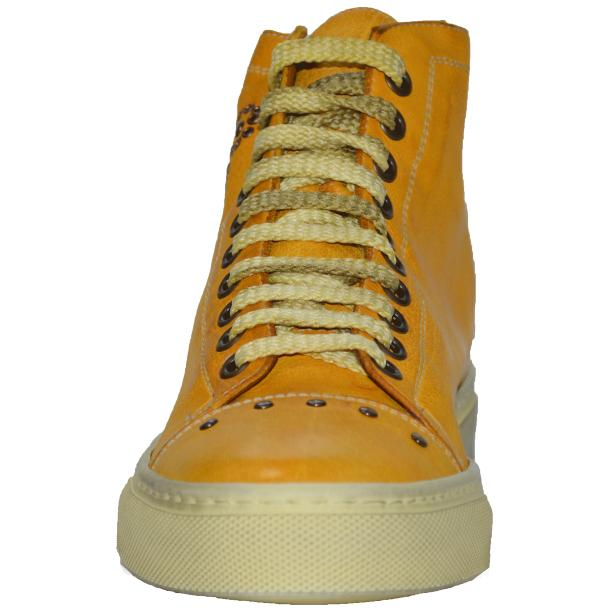 Misty Dip Dyed YellowHigh Top Sneaker full-size #2