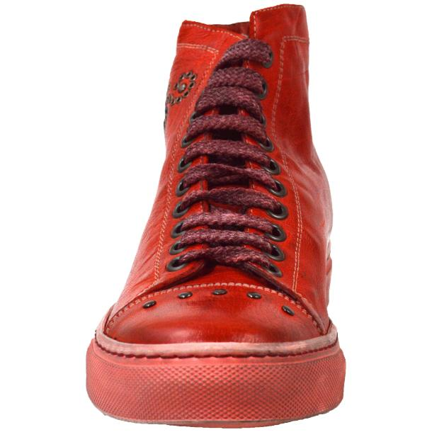 Misty Dip Dyed Red High Top Sneaker full-size #2