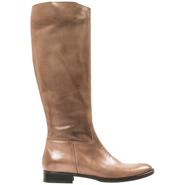 Rita Taupe Nappa Leather Classic Tall Riding Boots full-size #4