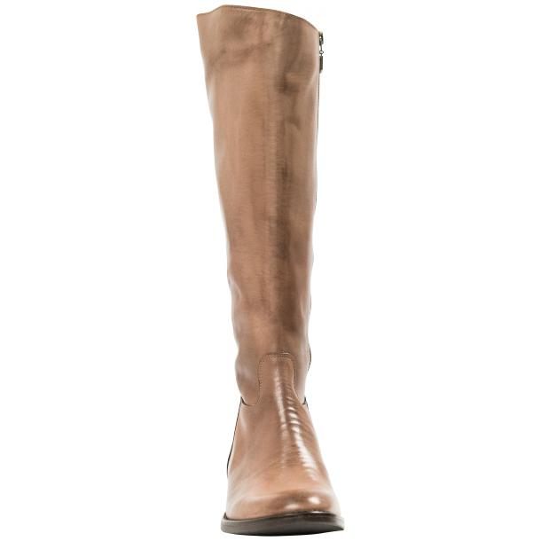 Rita Taupe Nappa Leather Classic Tall Riding Boots full-size #5