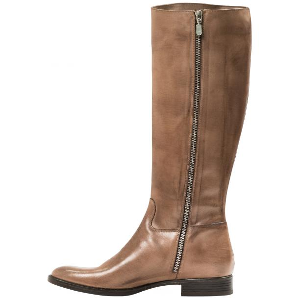 Rita Taupe Nappa Leather Classic Tall Riding Boots full-size #3