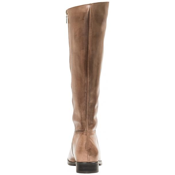 Rita Taupe Nappa Leather Classic Tall Riding Boots full-size #2