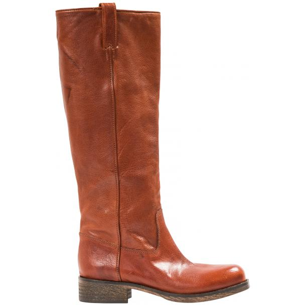 "Arya Light Brown ""Cuoio"" Nappa Leather Tall Boots full-size #4"