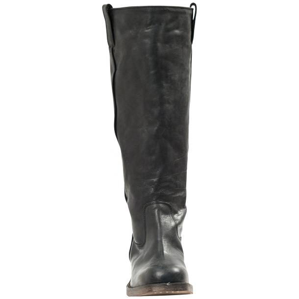"Arya Black ""Nero"" Nappa Leather Tall Boots full-size #2"