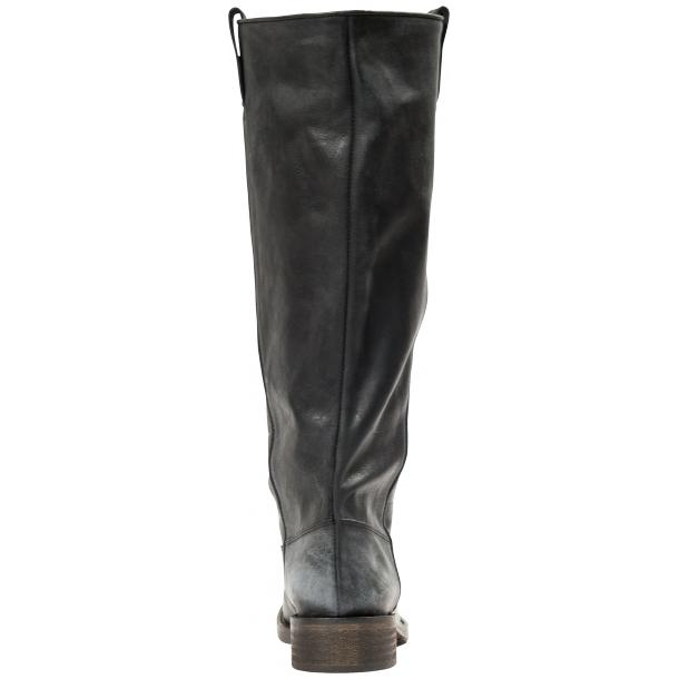 "Arya Black ""Nero"" Nappa Leather Tall Boots full-size #3"