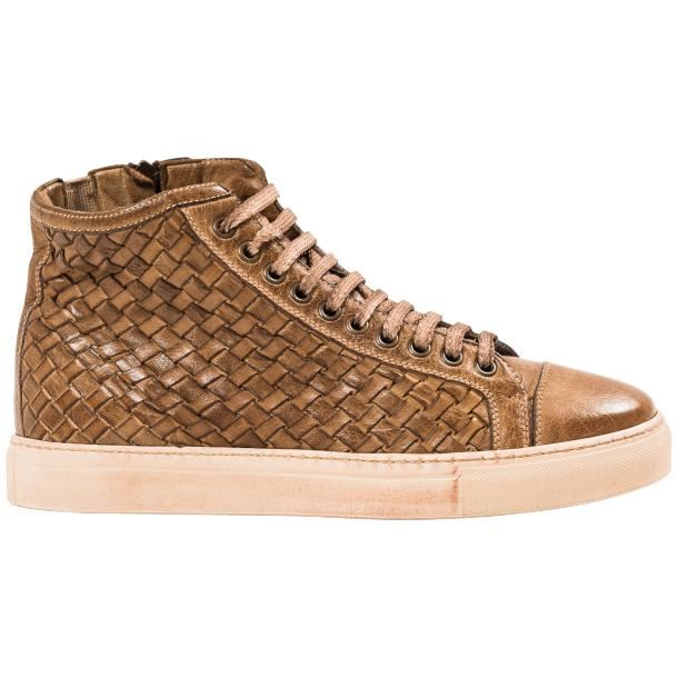 Gavin Dip Dyed Moor Hand Woven High Top Sneakers full-size #4