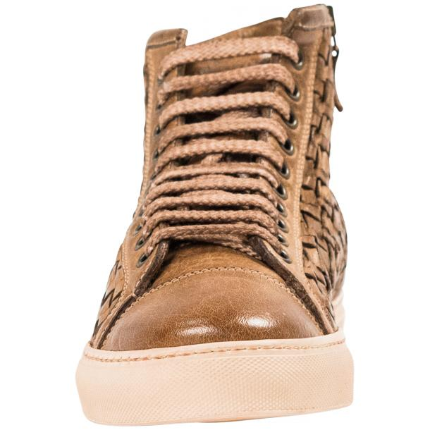 Gavin Dip Dyed Moor Hand Woven High Top Sneakers full-size #3